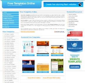 Шаблоны сайтов бесплатные шаблоны